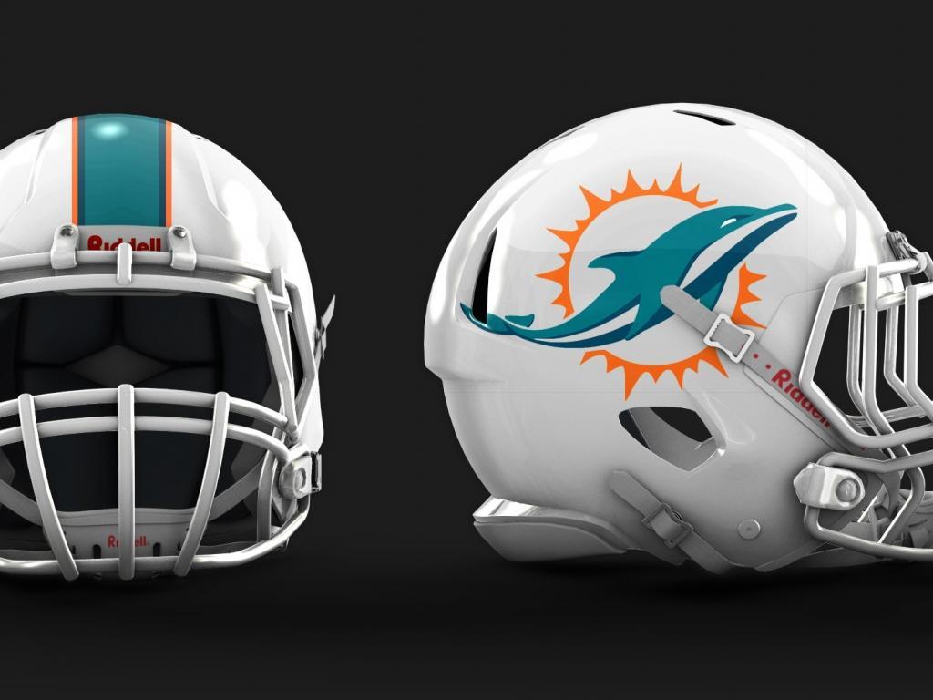 Miami dolphins helmet wallpaper 62469 1024x768