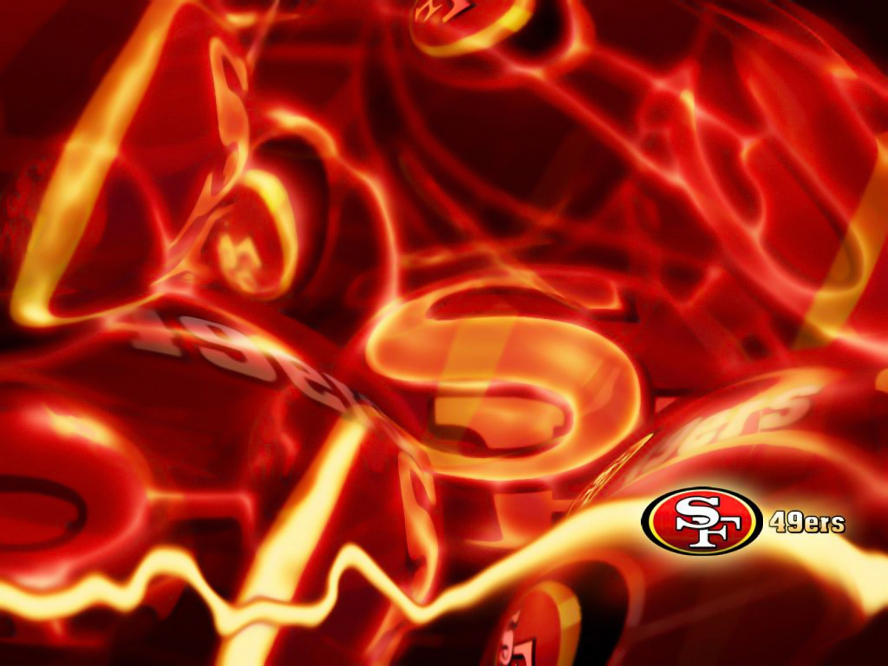 Francisco 49ers wallpaper background San Francisco 49ers wallpapers 1280x960