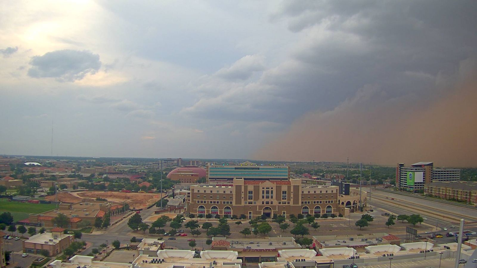 NWS Lubbock TX Severe Storms May 29 2016 1600x900