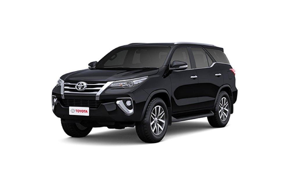 Toyota Fortuner Attitude Black Colour Fortuner Colours in India 1056x594