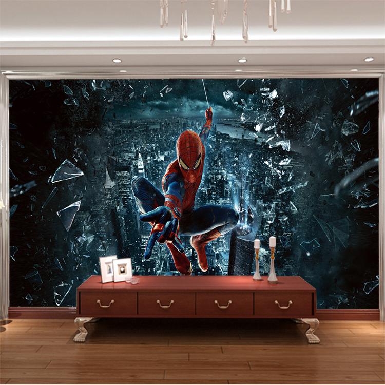 wallpaper for Baby kids room 3d photo mural child room SpiderMan 750x750