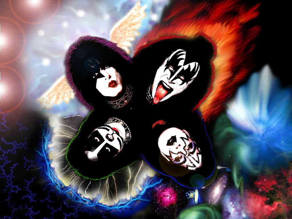 KISS   KISS Wallpaper 23452819 1024x768