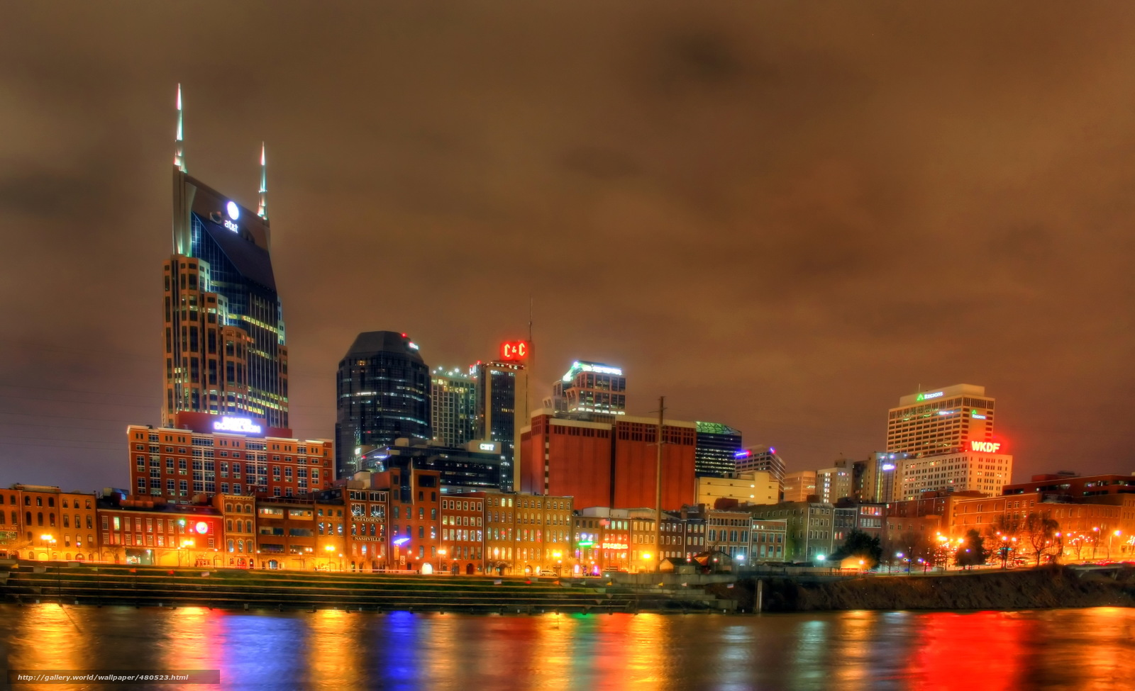 Nashville Christmas Lights
