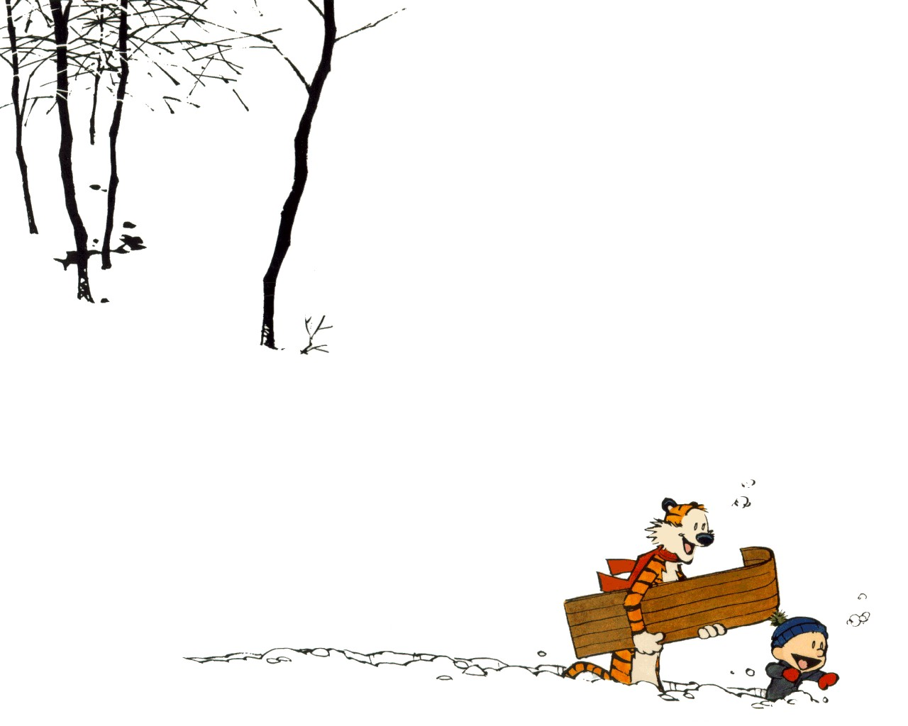 Calvin and Hobbes HD Cartoon Wallpapers Download Wallpapers in HD 1280x1024