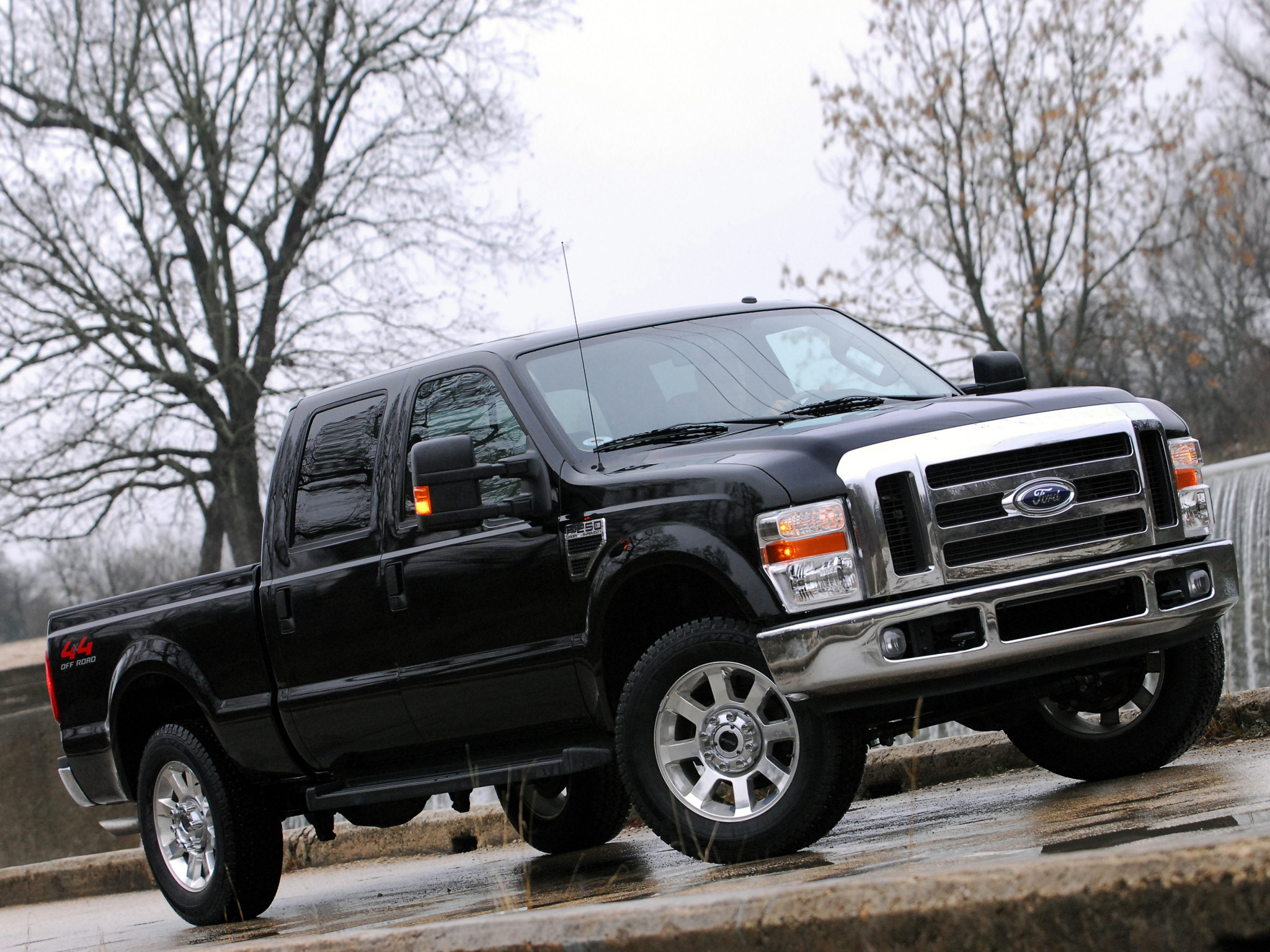 2008 Ford F 250 SuperDuty truck 4x4 f wallpaper background 2048x1536