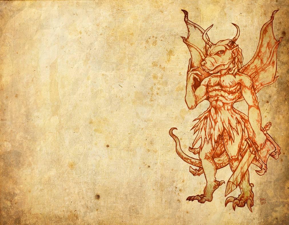 Pazuzu Wallpaper by hawanja 1011x790