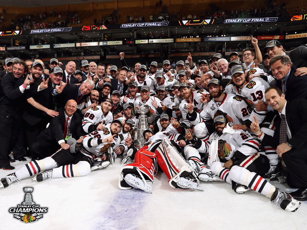 2013 Stanley Cup Champs 1024x768