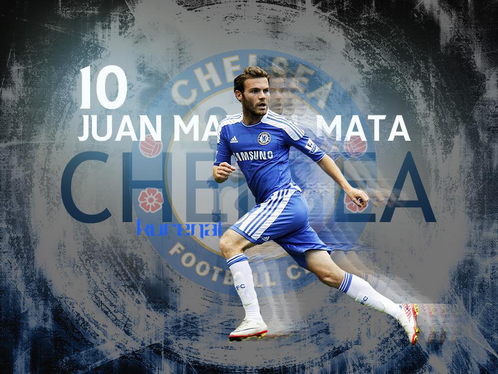 Mata Chelsea Wallpaper Cool Soccer Wallpapers   Football Wallpaper 1024x768