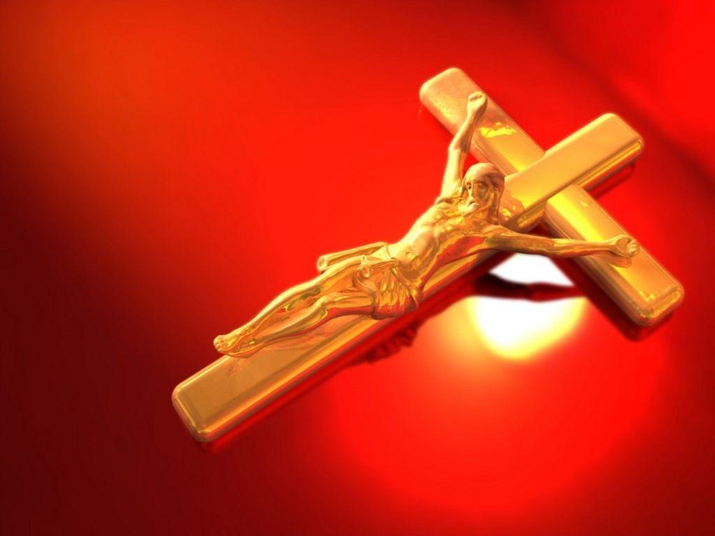 Jesus On The Cross   Jesus Wallpaper 24749129 1024x768