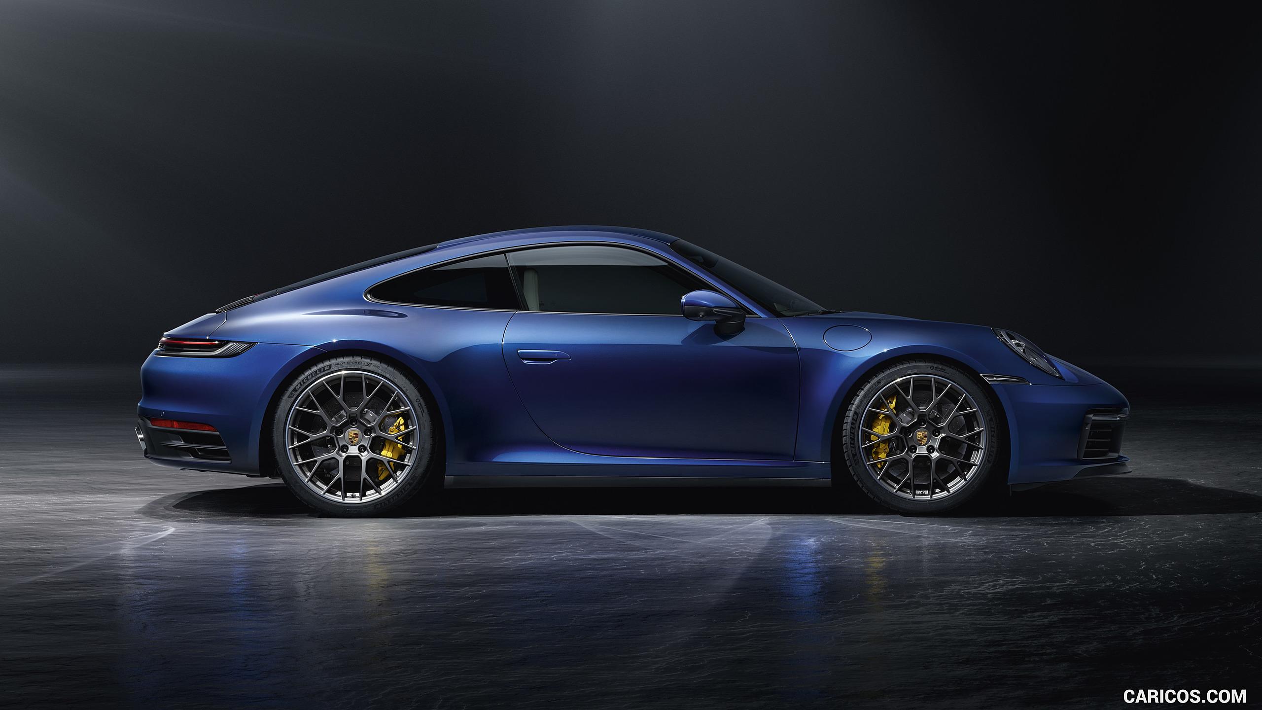 2020 Porsche 911 Carrera 4S   Side HD Wallpaper 45 2560x1440