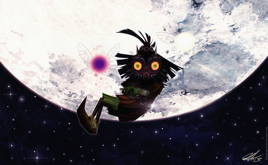 Zelda Majoras Mask Skull Kid by Giogiogio4 900x554