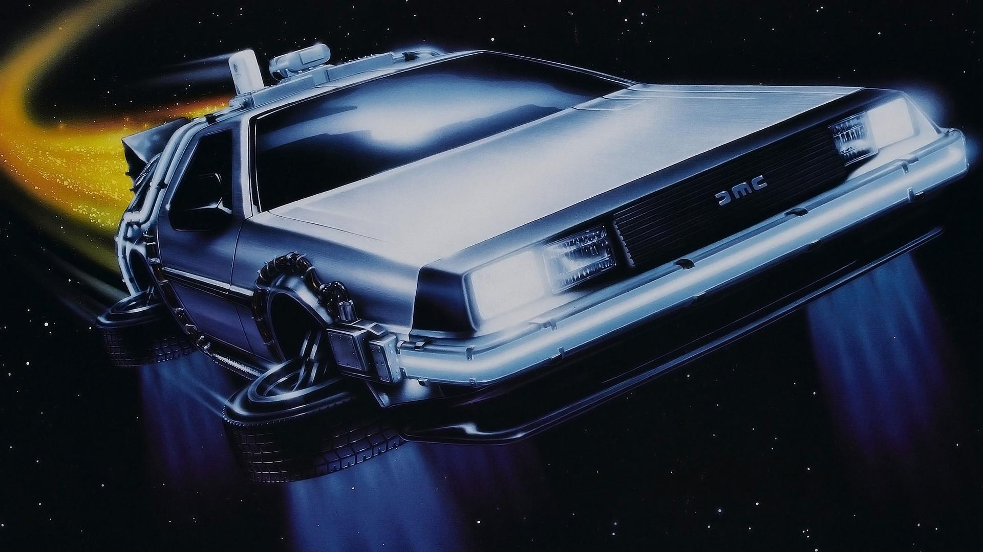 DeLorean   Back to the Future wallpaper by wallconvertcom 1920x1080