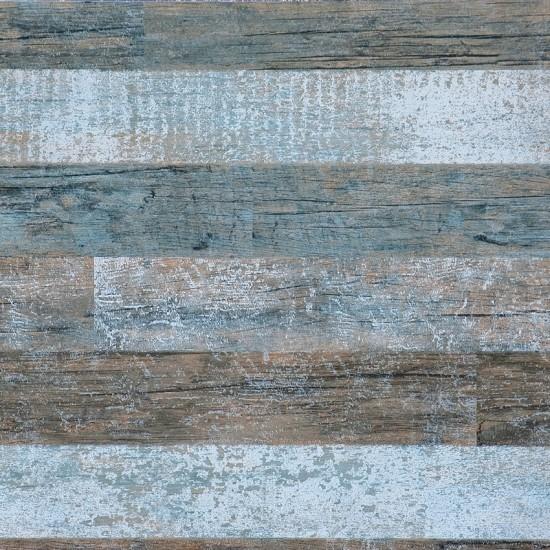 Faux Reclaimed Wood Wallpaper Brushed wood wallpaper blue 550x550