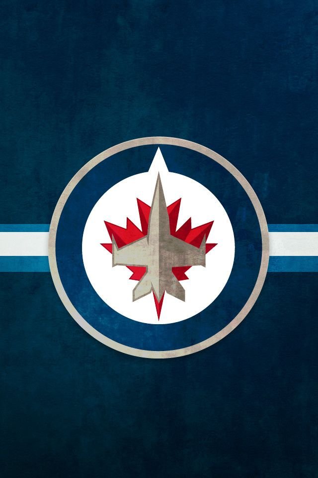 Winnipeg Jets iPhone Background NHL WALLPAPERS Pinterest 640x960