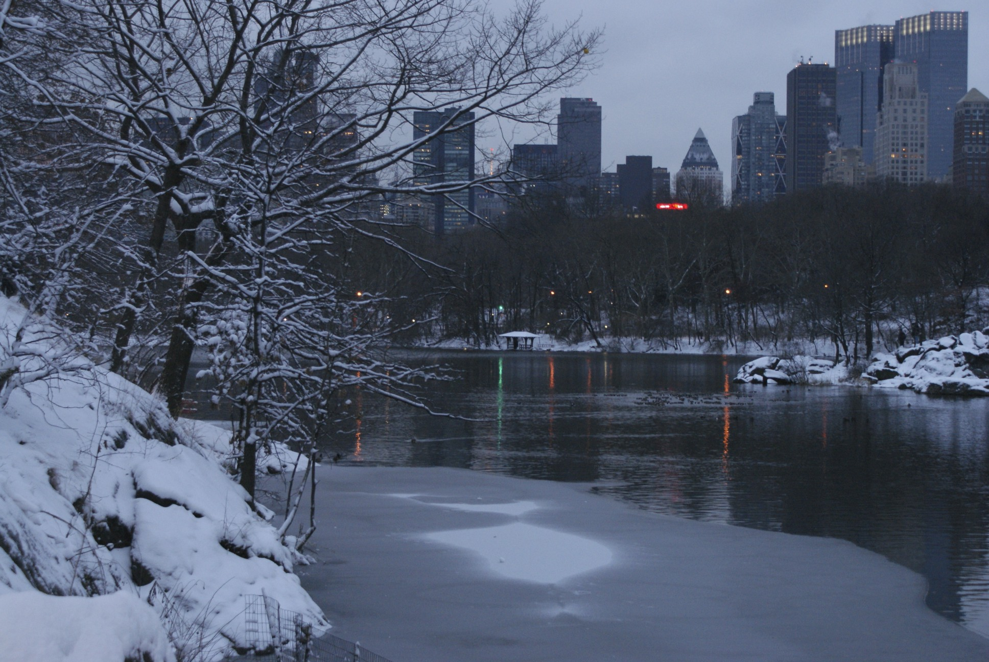 New York Winter Wallpaper Central Park Wi...