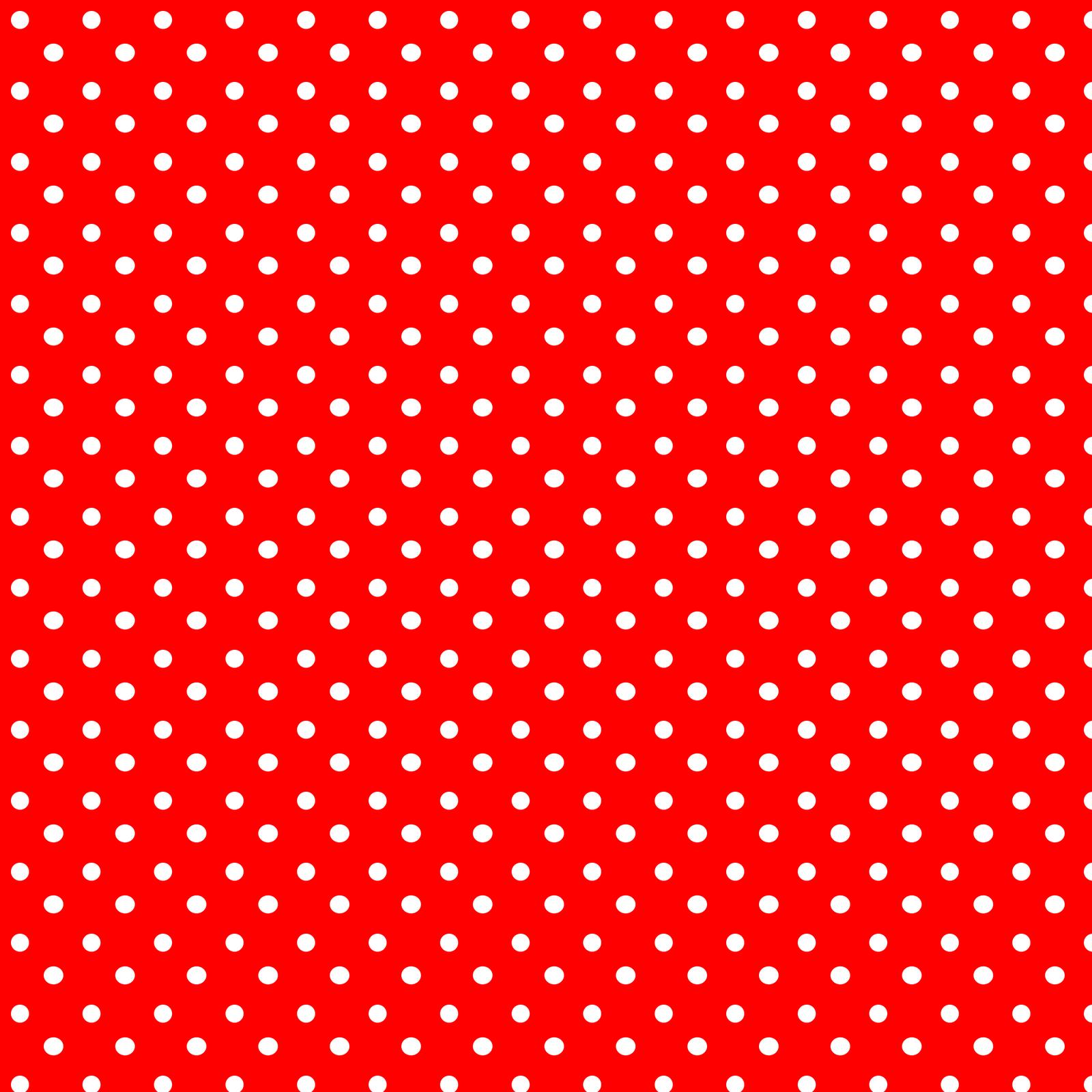 And white polka dot background