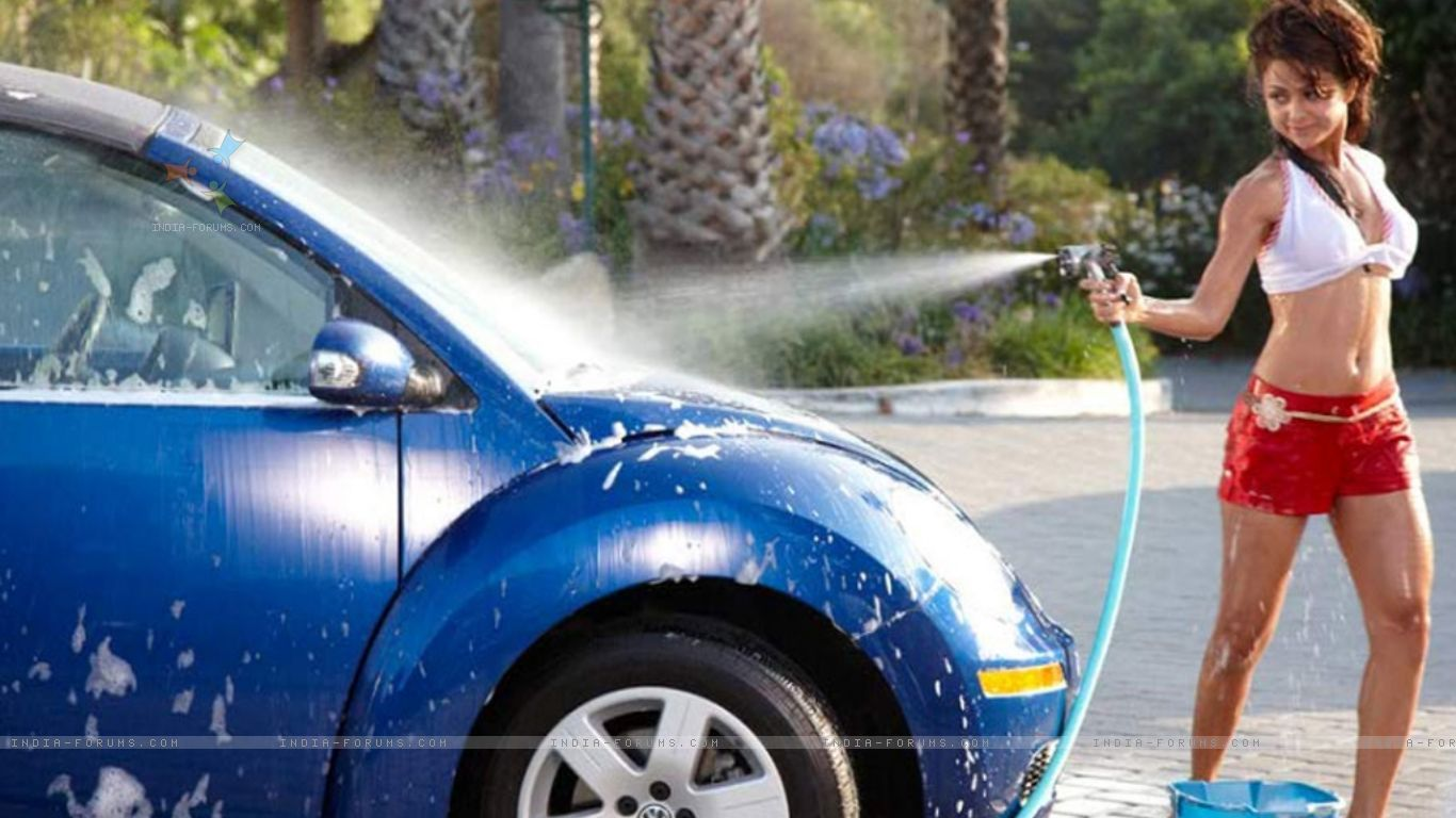 Car Wash Wallpaper   Wallpaper HD Wide 1366x768