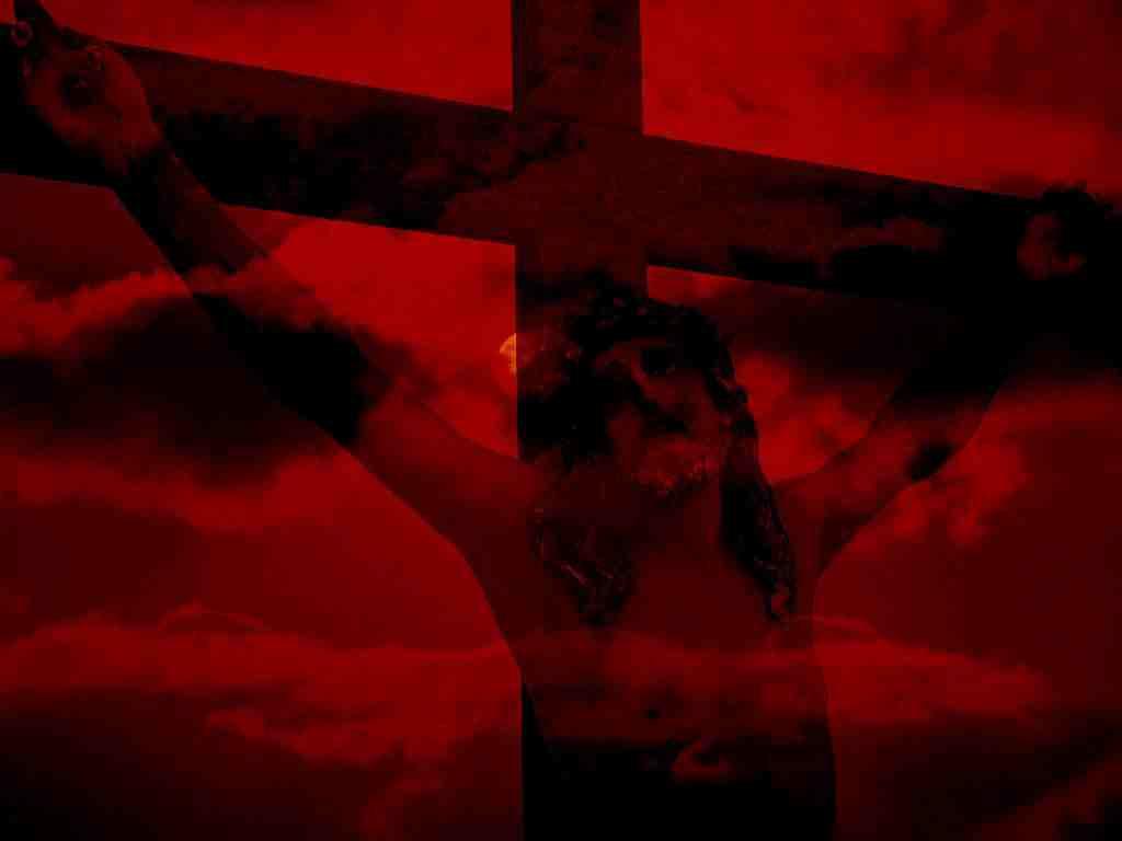 Jesus Christ Wallpaper set 08 On The Cross 1024x768