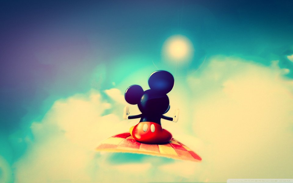 cute mickey mouse wallpaper wallpapers55com   Best Wallpapers 960x600