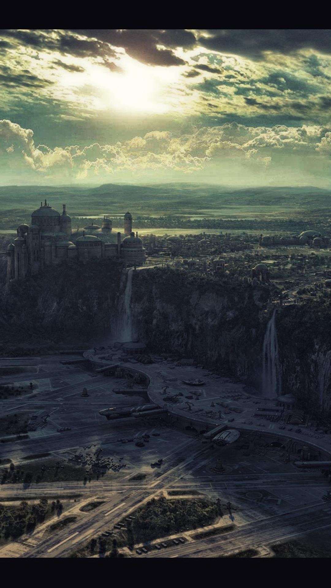 Naboo star wars landscapes HD wallpaper 1080x1920