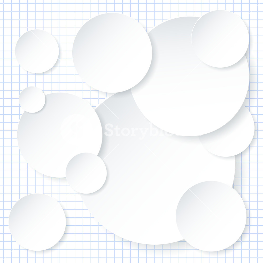 White Paper Infographic Background Design Template Vector 1000x1000