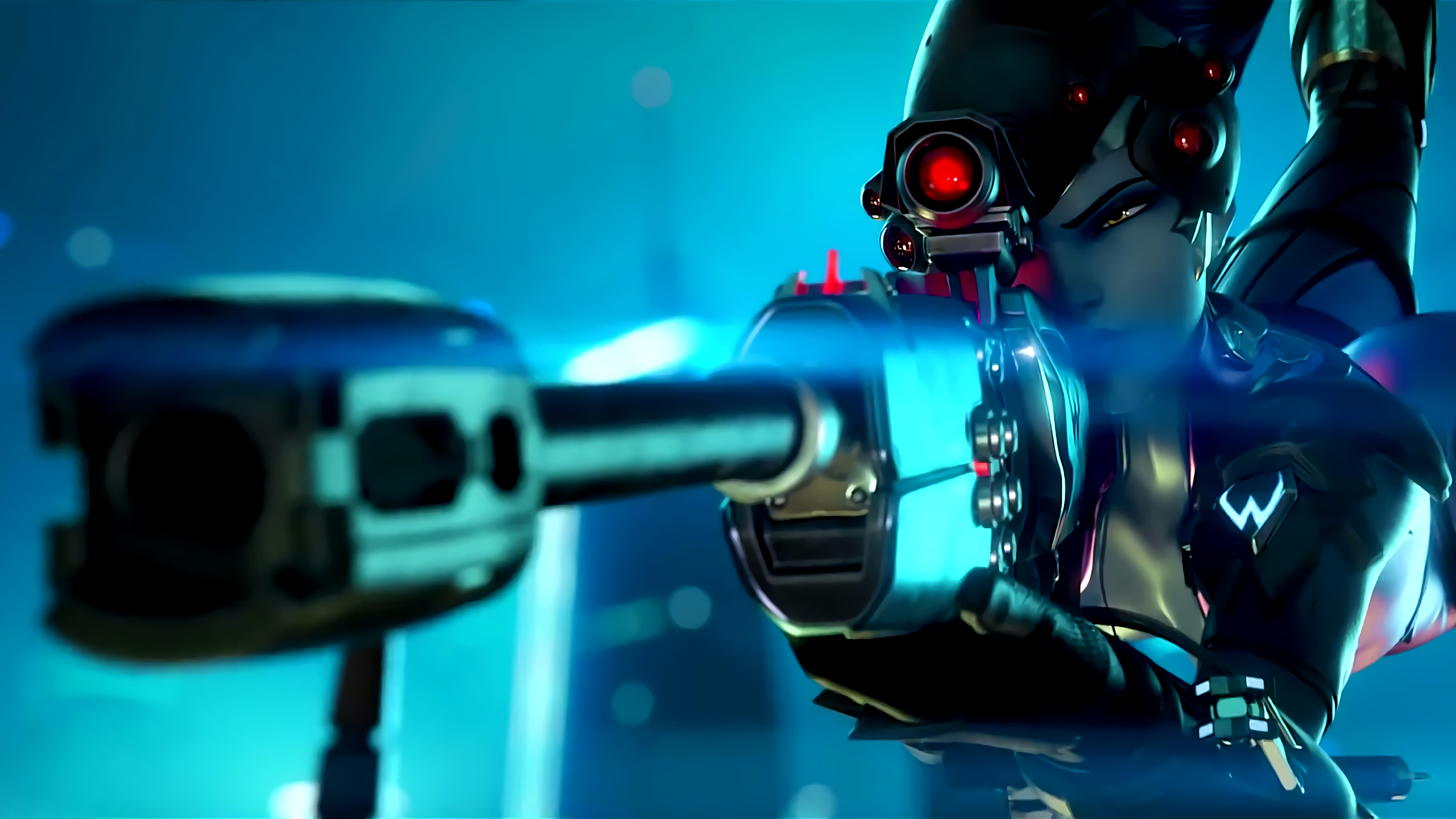 Overwatch Widowmaker HD Wallpaper   iHD Wallpapers 2560x1440