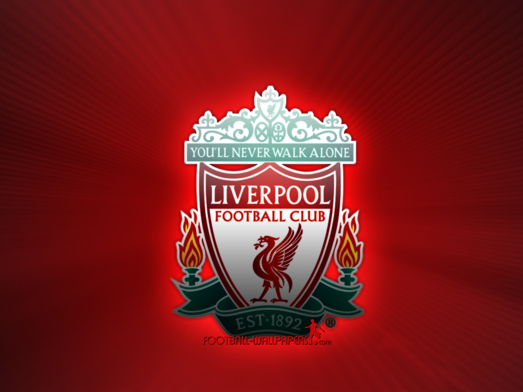 Tablet Liverpool logo wallpapers Tablet Liverpool logo backgrounds 1024x768