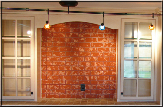 Faux Brick Tile 550x360