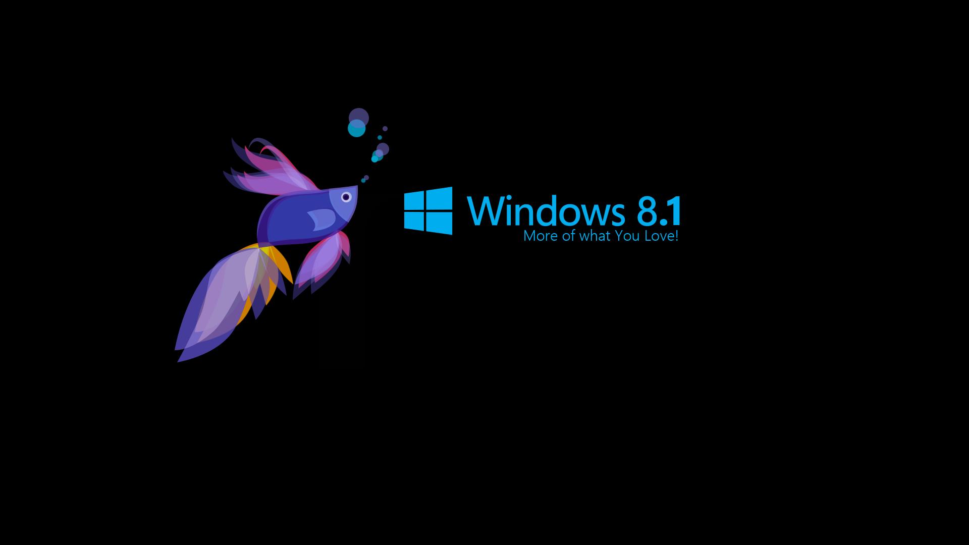Download Windows 81 3D Black Wallpapers HD Desktop WIdescreen 1920x1080