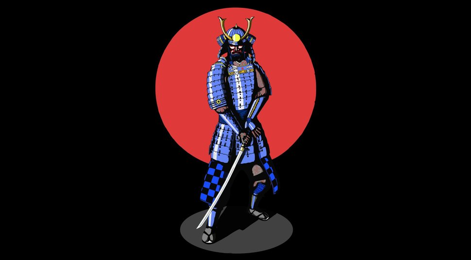 Best Bushido Samurai Wallpaper Bushido Samurai Wallpaper Bushido The 970x535