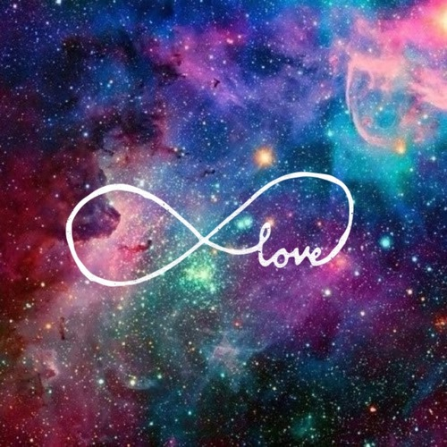 Love Wallpaper For Galaxy Grand 2 : infinity symbol galaxy
