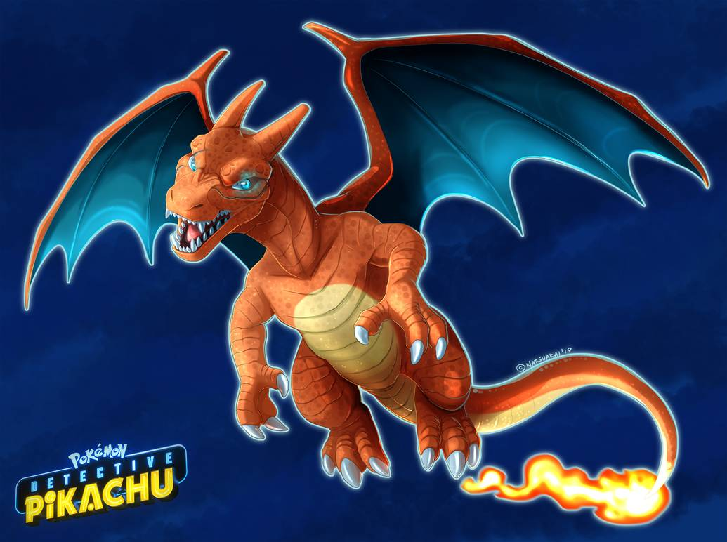 13 Detective Pikachu Charizard Wallpapers On Wallpapersafari