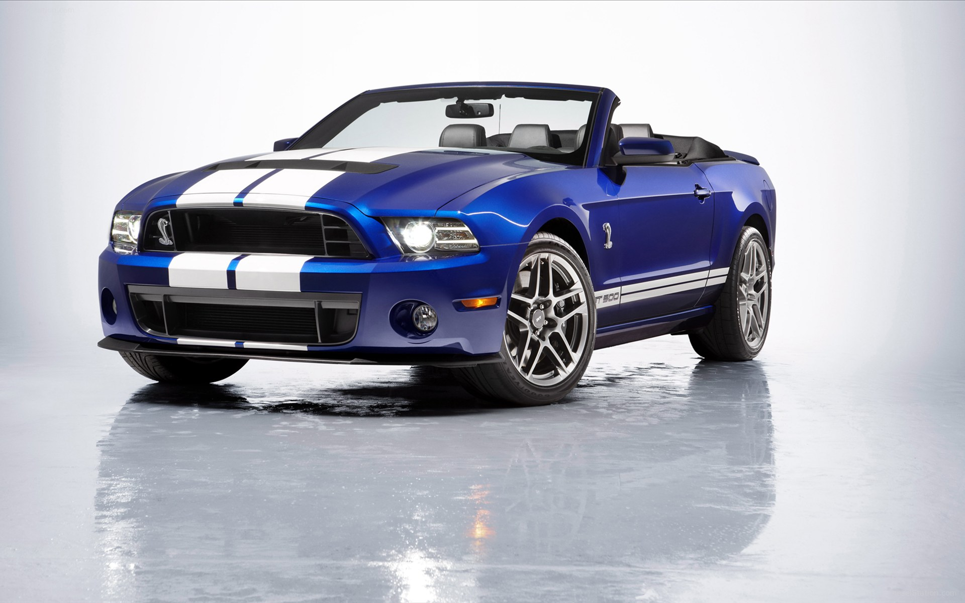 2013 Ford Shelby Mustang GT500 Convertible Wallpaper HD Car 1920x1200
