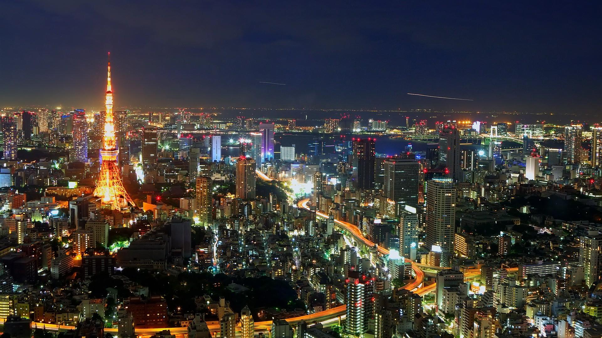 Japan Tokyo Wallpaper 1920x1080 Japan Tokyo Cityscapes Skyline 1920x1080