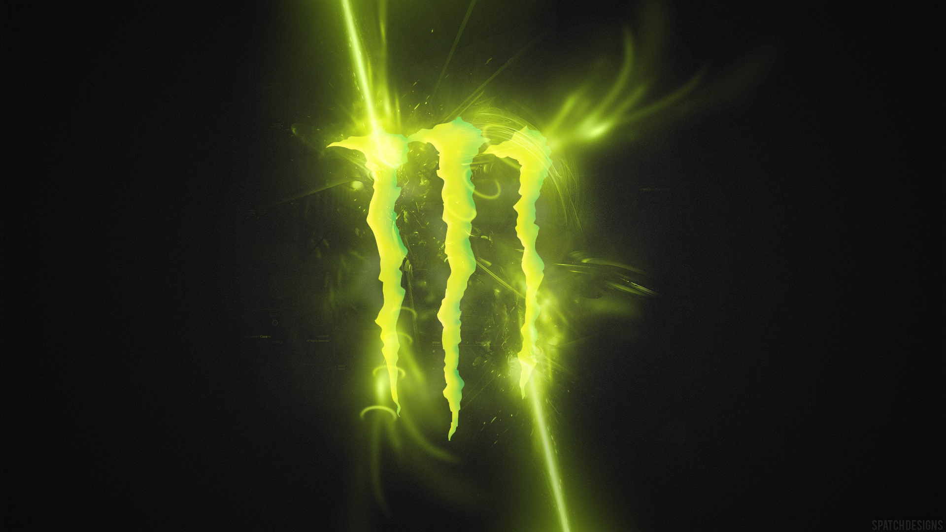Monster Energy 03 HD Wallpaper Beautiful Monster Energy Logo HD 1920x1080