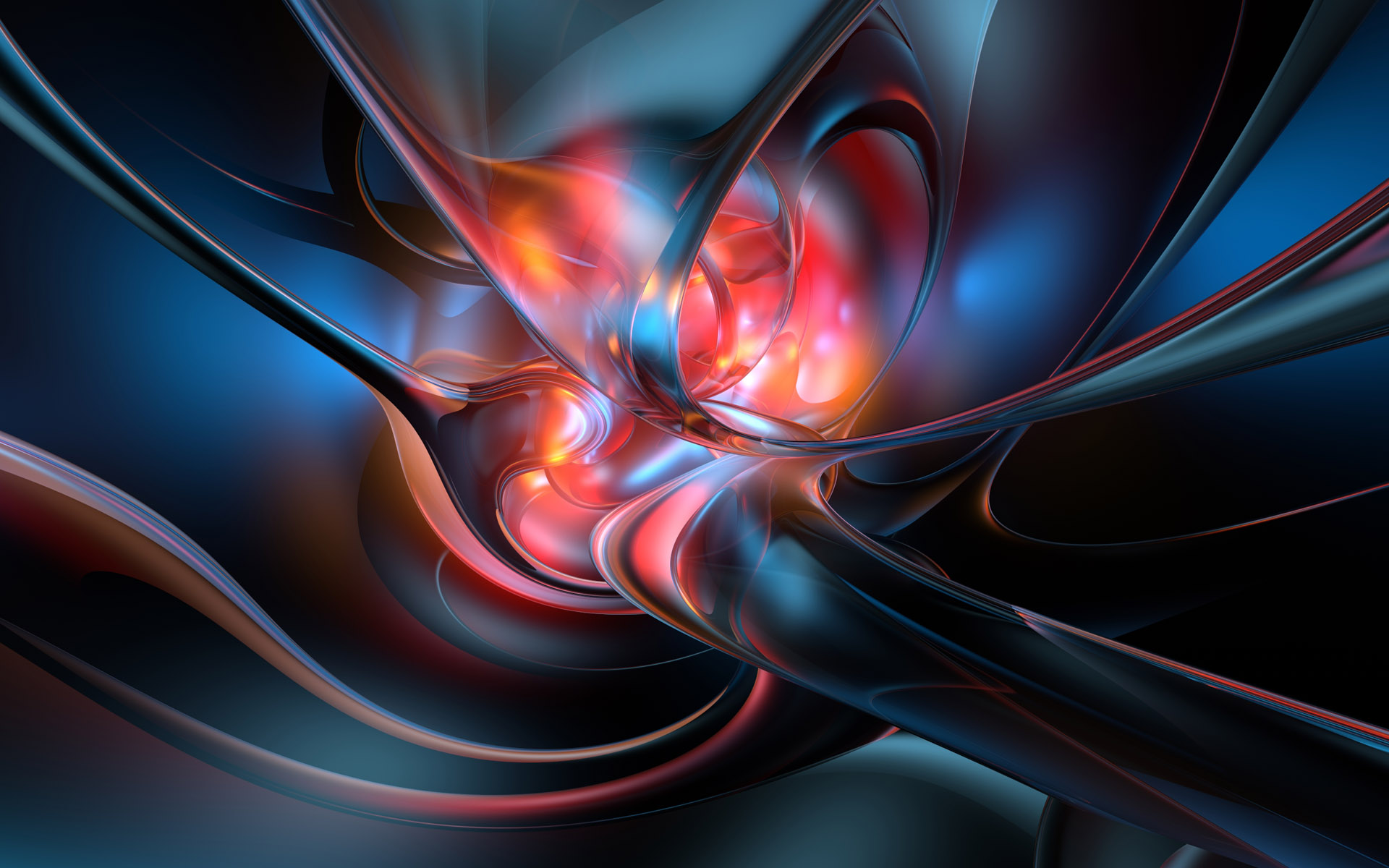 3D Abstract Desktop Wallpaper - WallpaperSafari