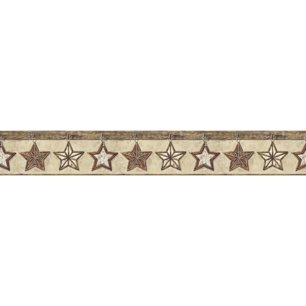 Lodge Twig Stars Border   Wallpaper Border Wallpaper inccom 1000x1000