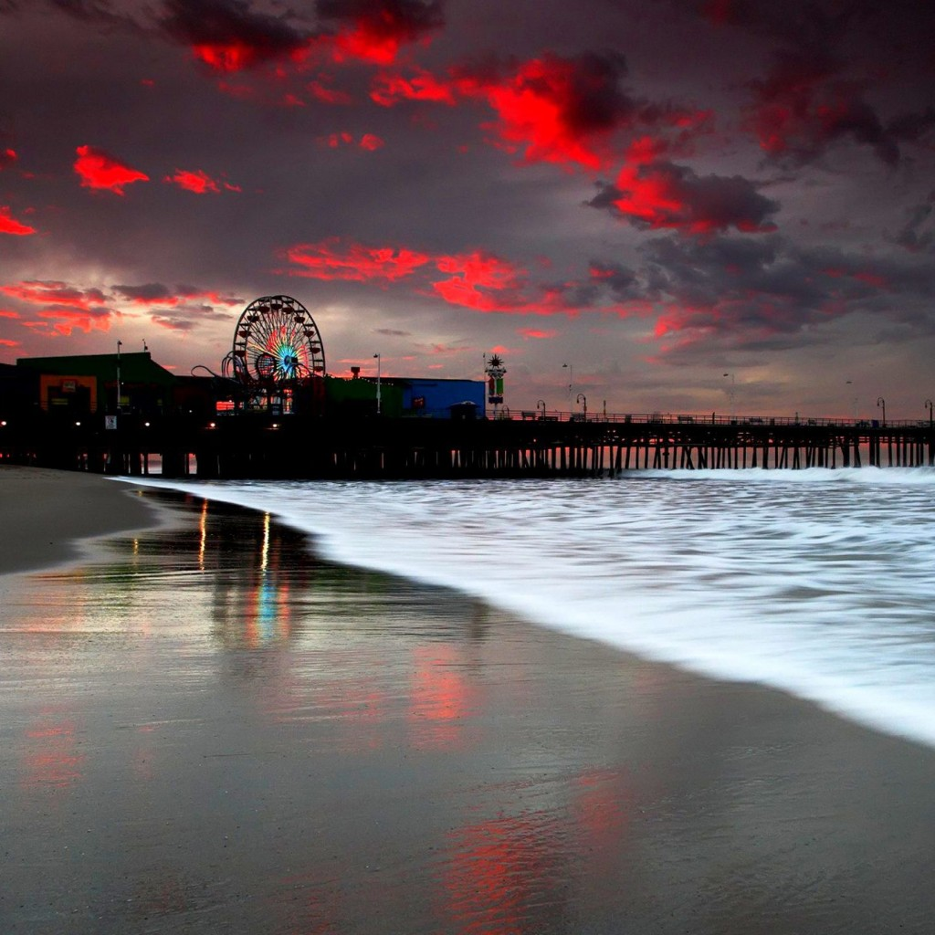 Santa Monica HD Wallpaper