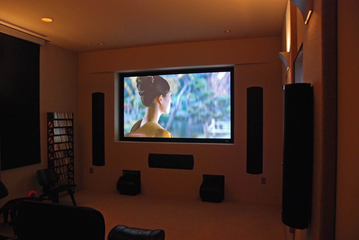 home theater or home theatre is a theater built in a home designed 1200x803