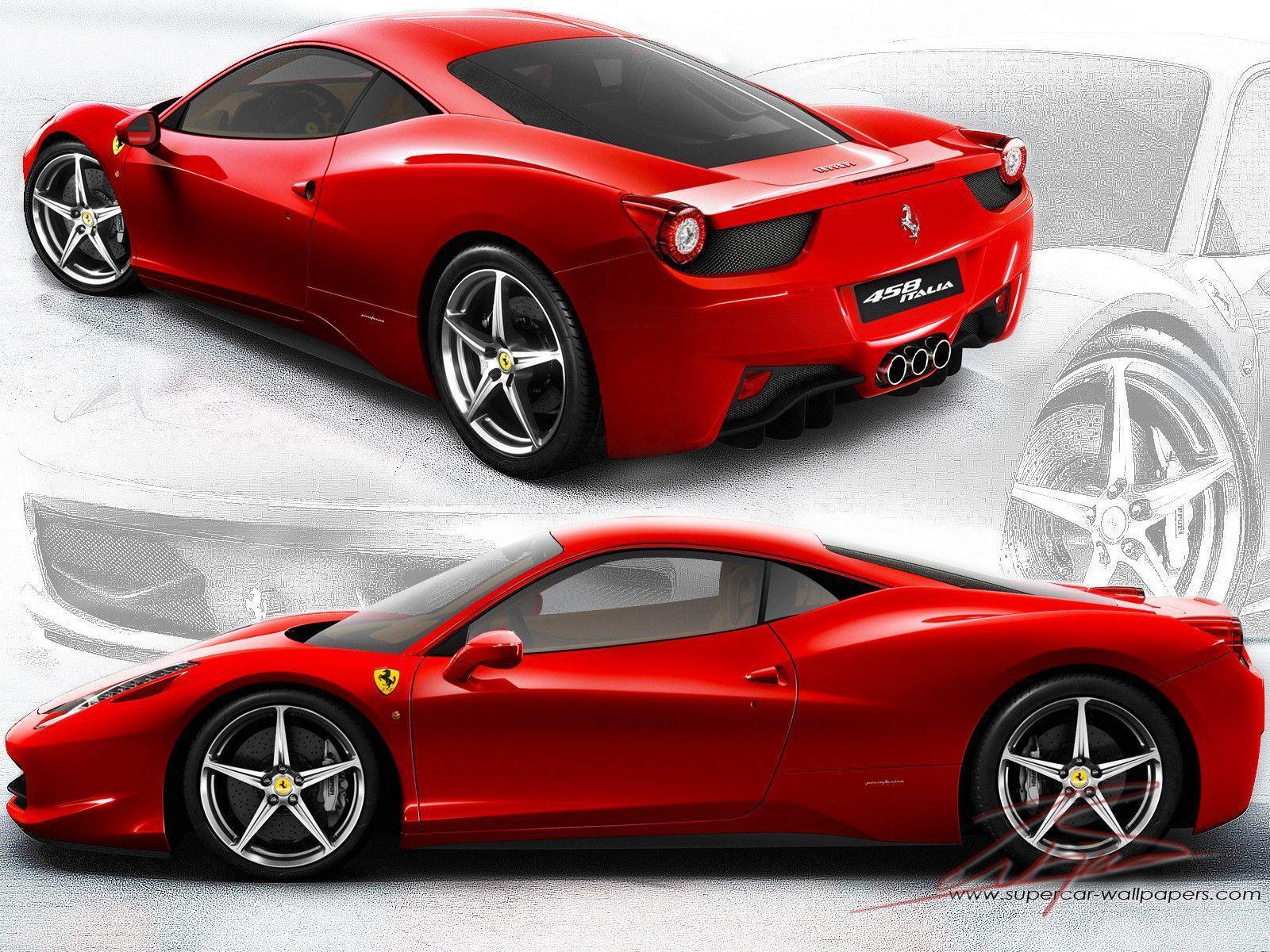 Ferrari 458 Italia Wallpapers Widescreen 1600x1200