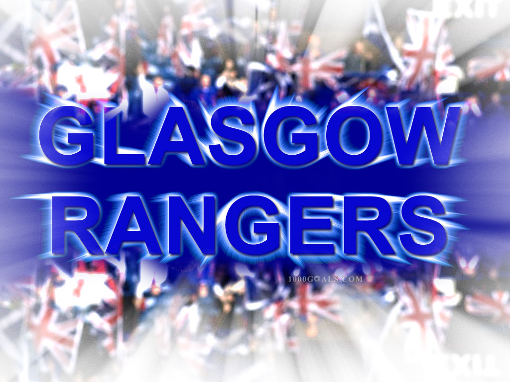 Rangers FC wallpapers Football   1000 Goals 1024x768