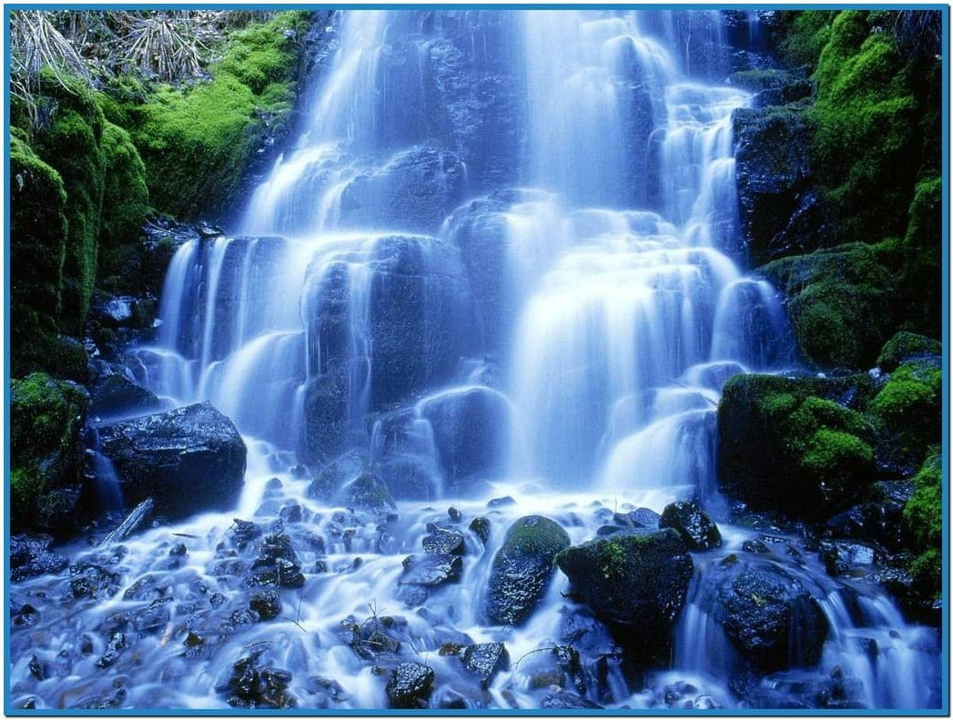 moving waterfall wallpaper screensaver 1047x791