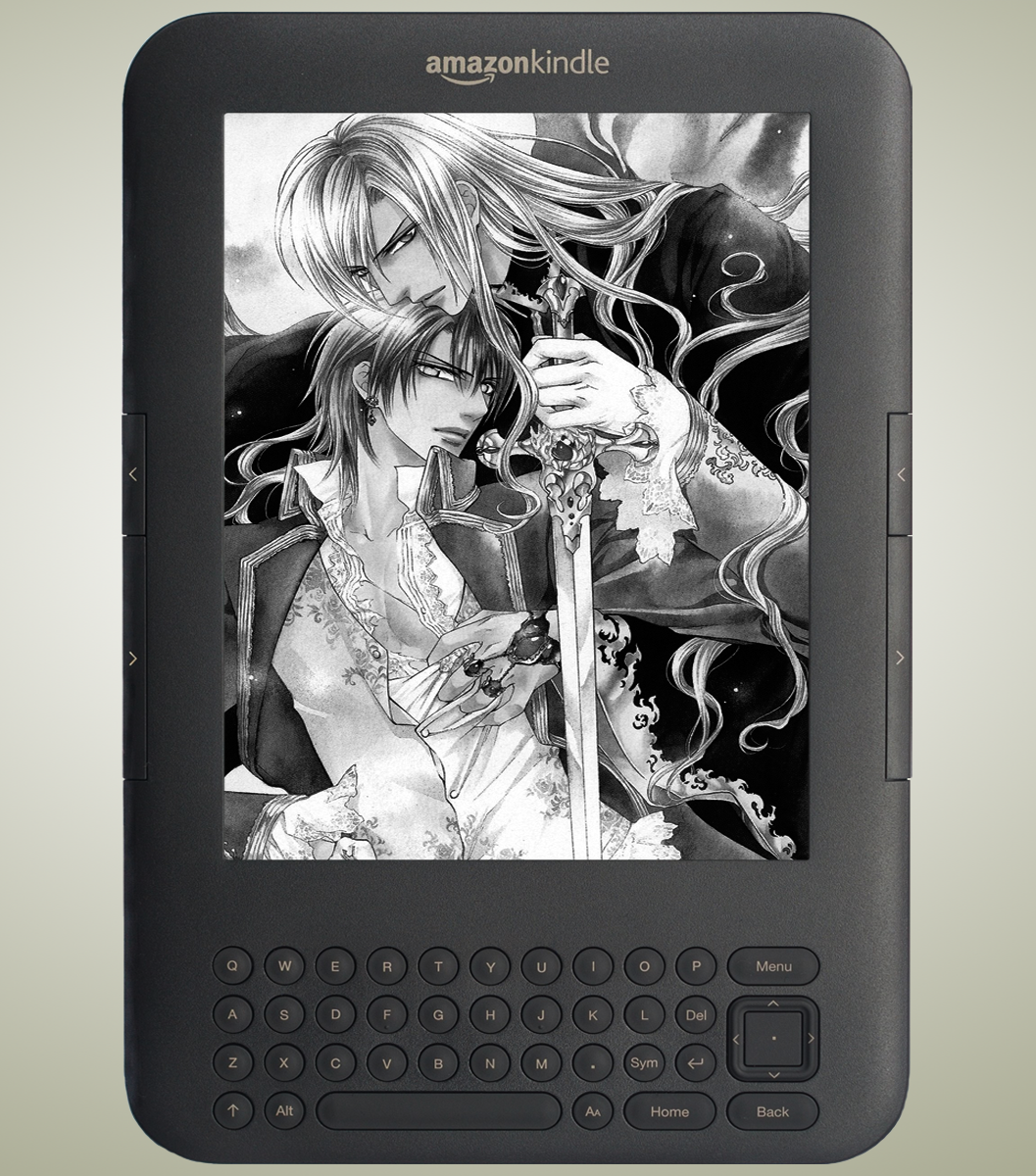 Kindle Screensavers by vamp kiss 1057x1200
