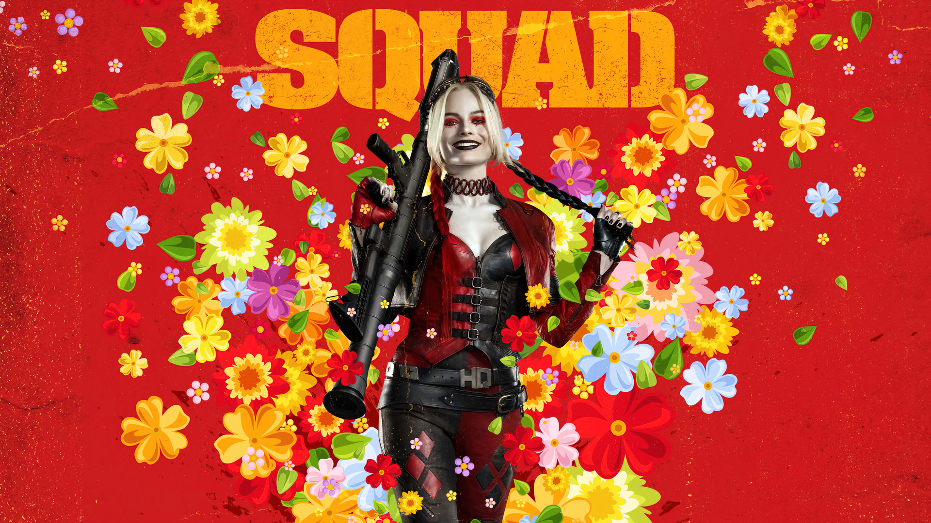 The Suicide Squad Harley Quinn Movie 2021 Poster Wallpaper 4K 53324 1920x1080