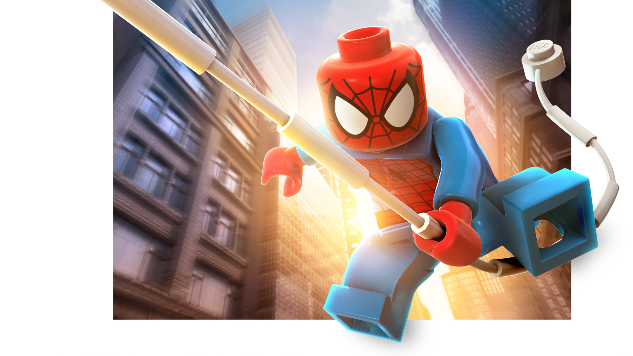 lego spiderman poster