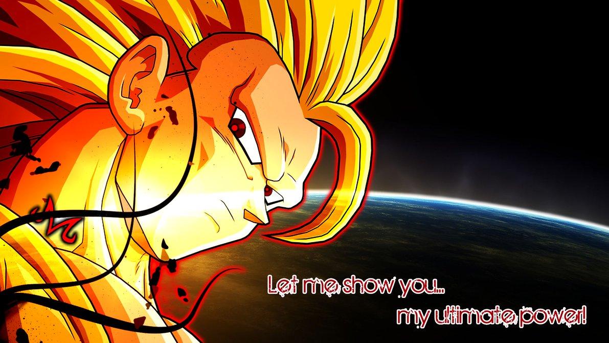 Majin Super Saiyan 3 Goku Wallpaper by Friezy 1191x670