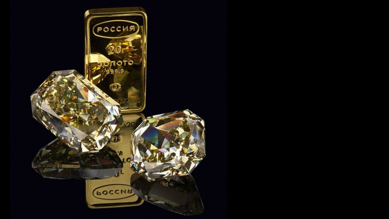 Gold bullion diamonds wallpaper 1920x1080 91687 WallpaperUP 1244x700