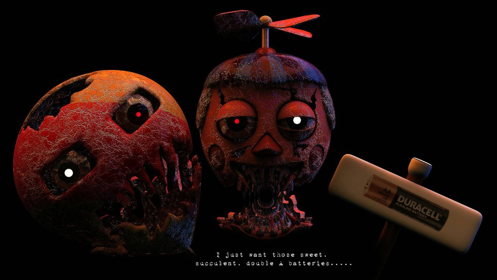 Free download Fnaf4 Fan made Nightmare BB Not made by me by