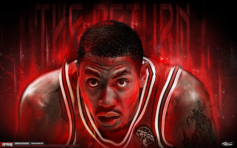 Derrick Rose TheReturn Intensity Wallpaper Posterizes NBA 1440x900