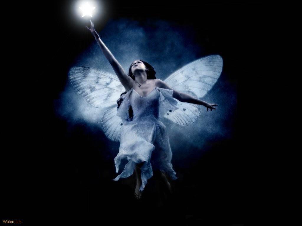 photos of fairies beautiful black hair fairy with gothic style 1024x768